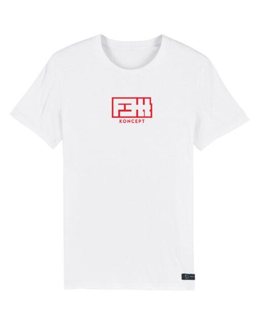 RED FETT KONCEPT WHITE T-SHIRT