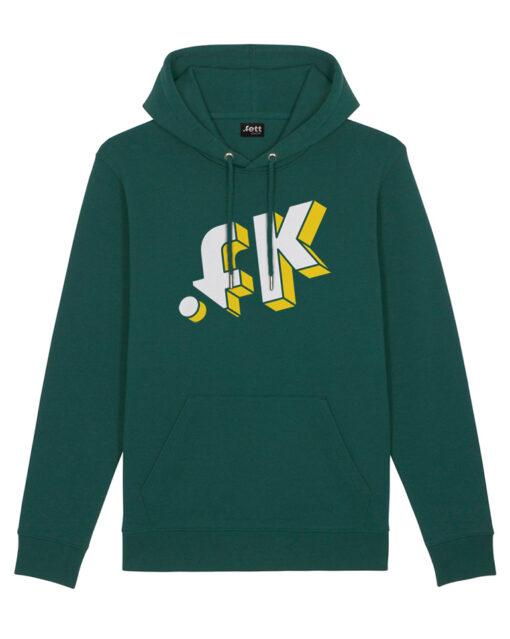 3D .FK GREEN HOODIE